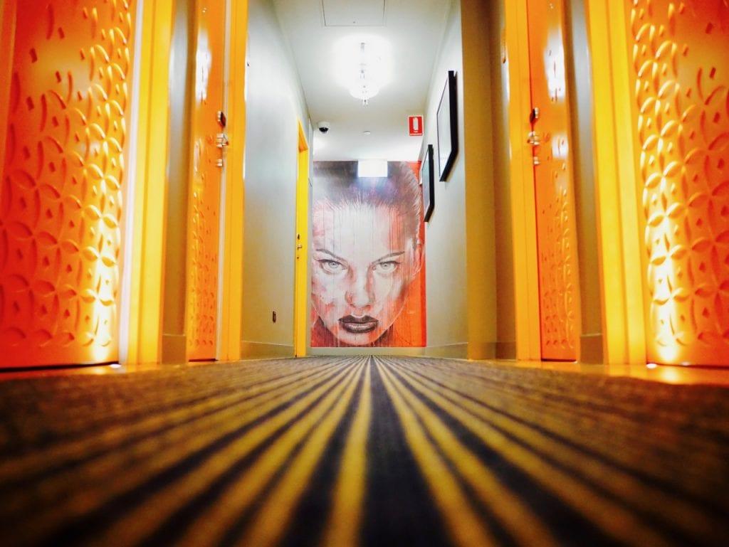 tryp hotel brisbane art