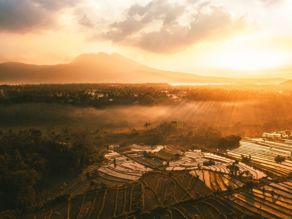 Mount Rinjani, Lombok, Indonesia, one of Asia's best experiences