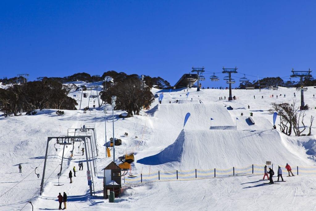Perisher skiing, one of Australia's best experiences