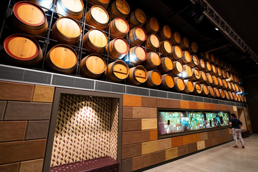 Interior of the National Wine Centre, Adelaide