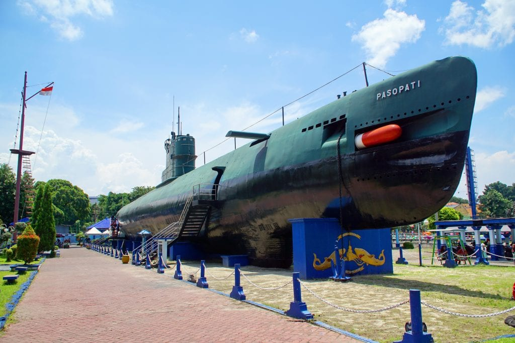 The Surabaya Submarine Monument