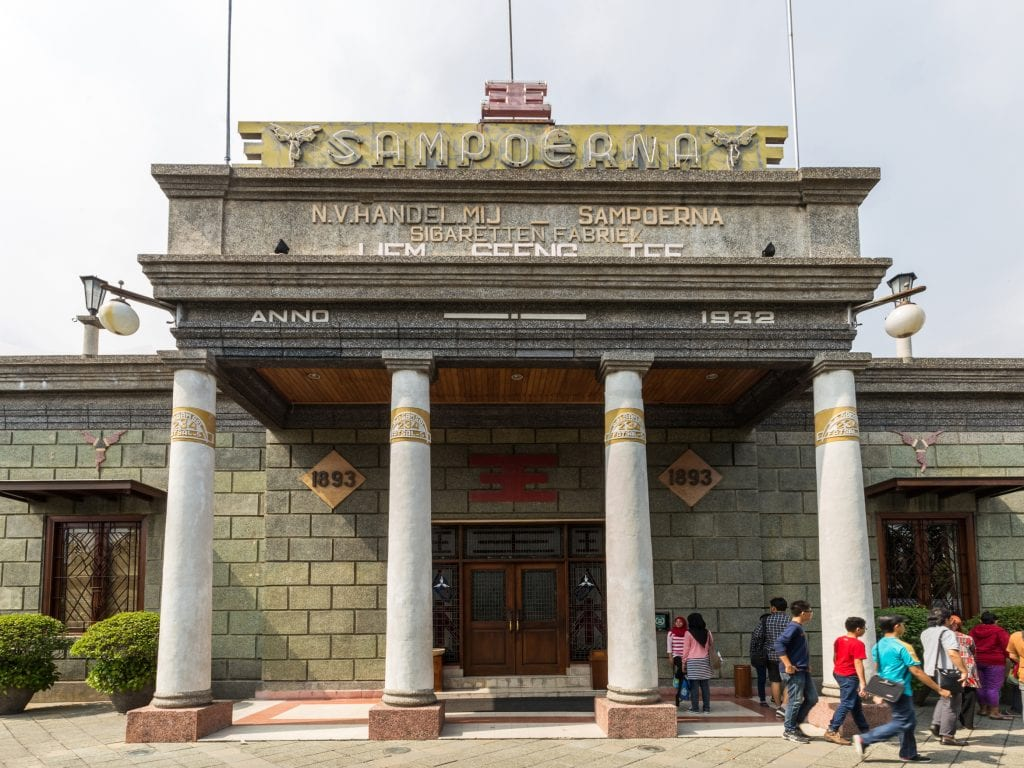 House of Sampoerna facade, Surabaya