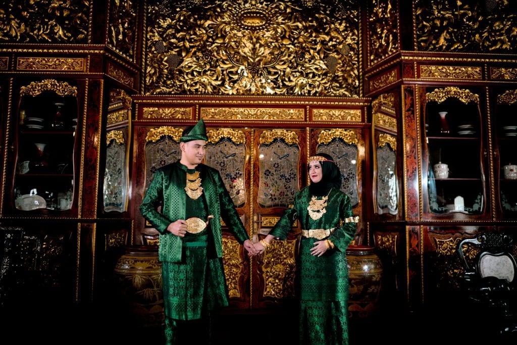 Traditional Palembang wedding