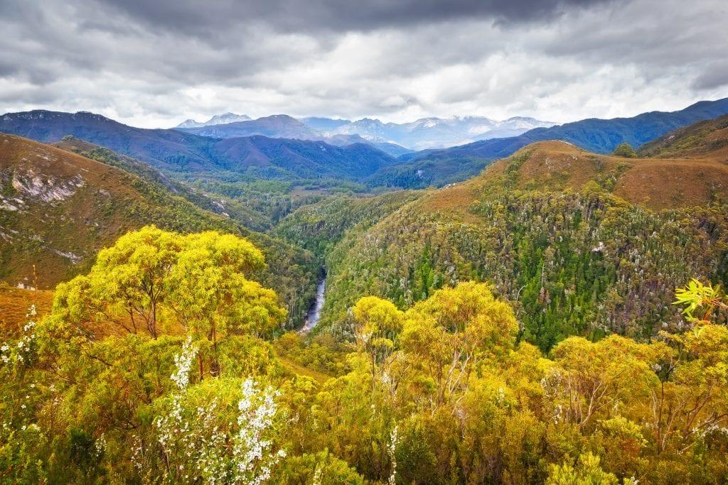 The Franklin River in Tasmania