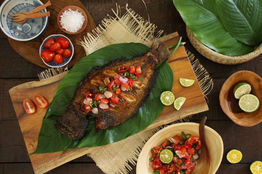 Ikan bakar dabu-dabu from Solo, Indonesia